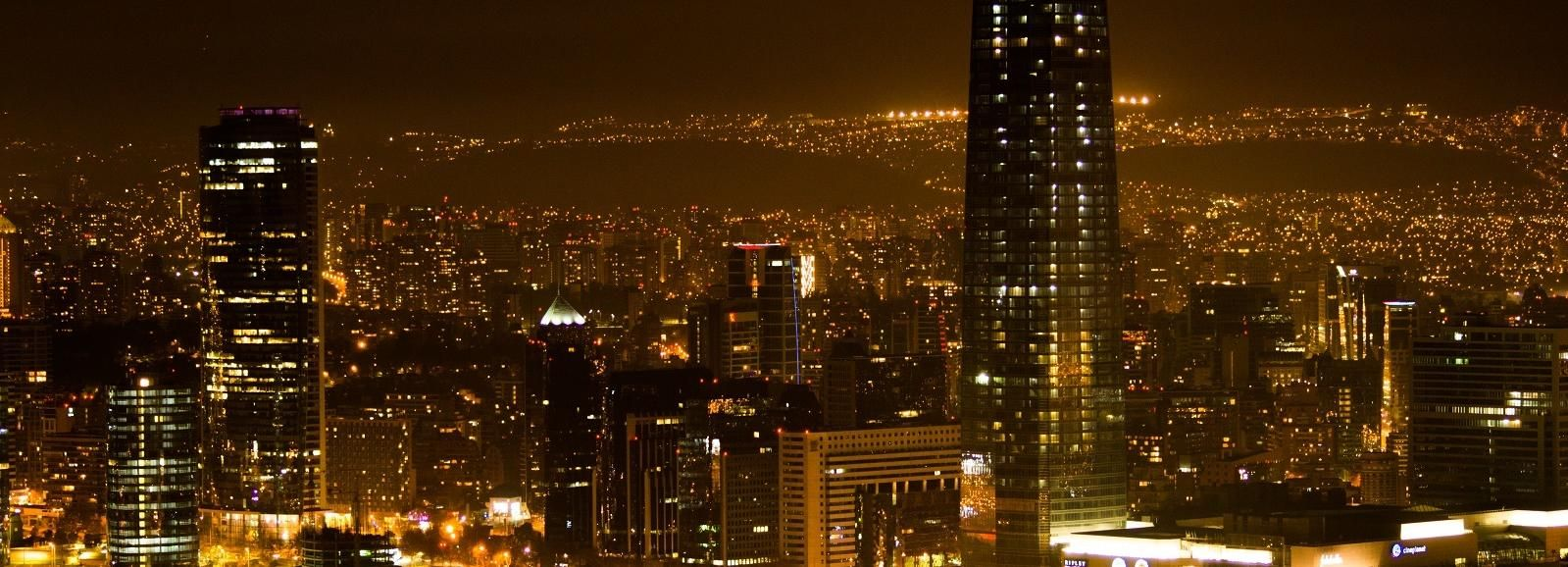 Santiago: 4-Hour Private Night Tour with Dinner and Show