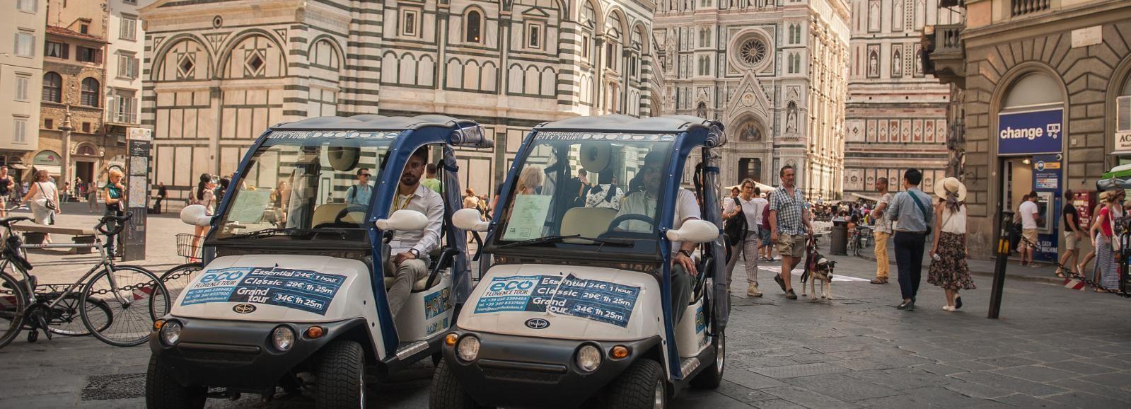 Florence: visite en voiturette électrique