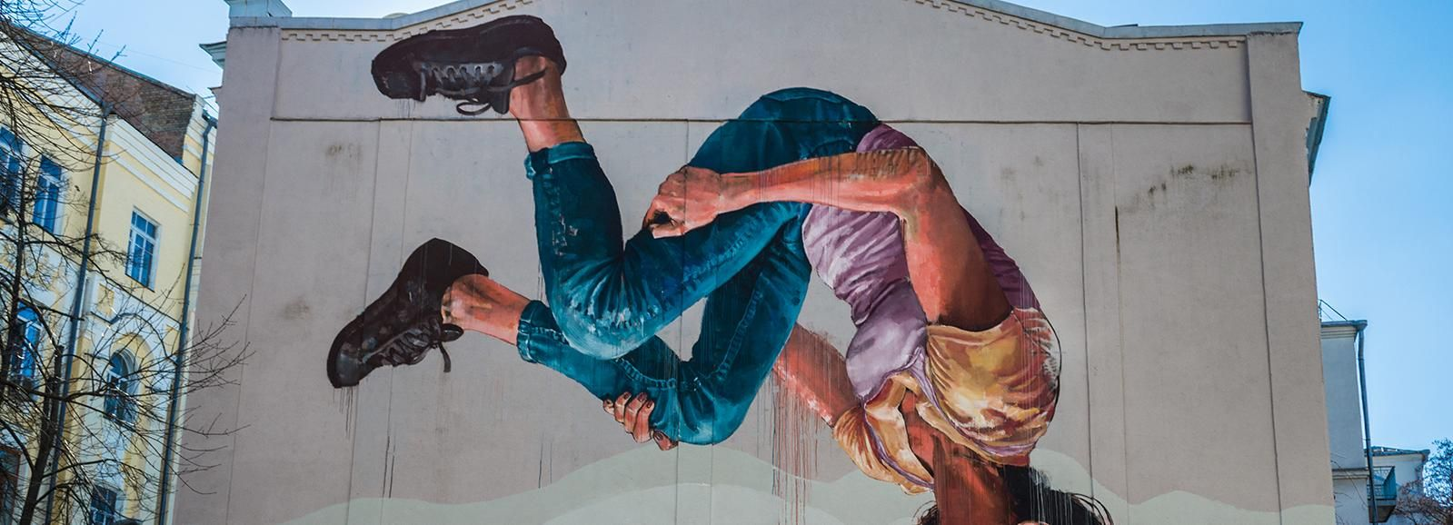 Kiev: 2-Hour Mural Art Walking Tour