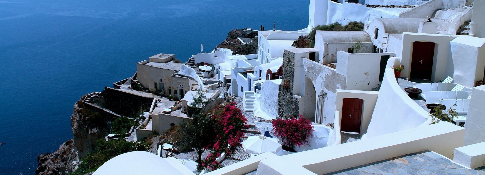 Santorini: tour de 2 días con alojamiento desde Atenas