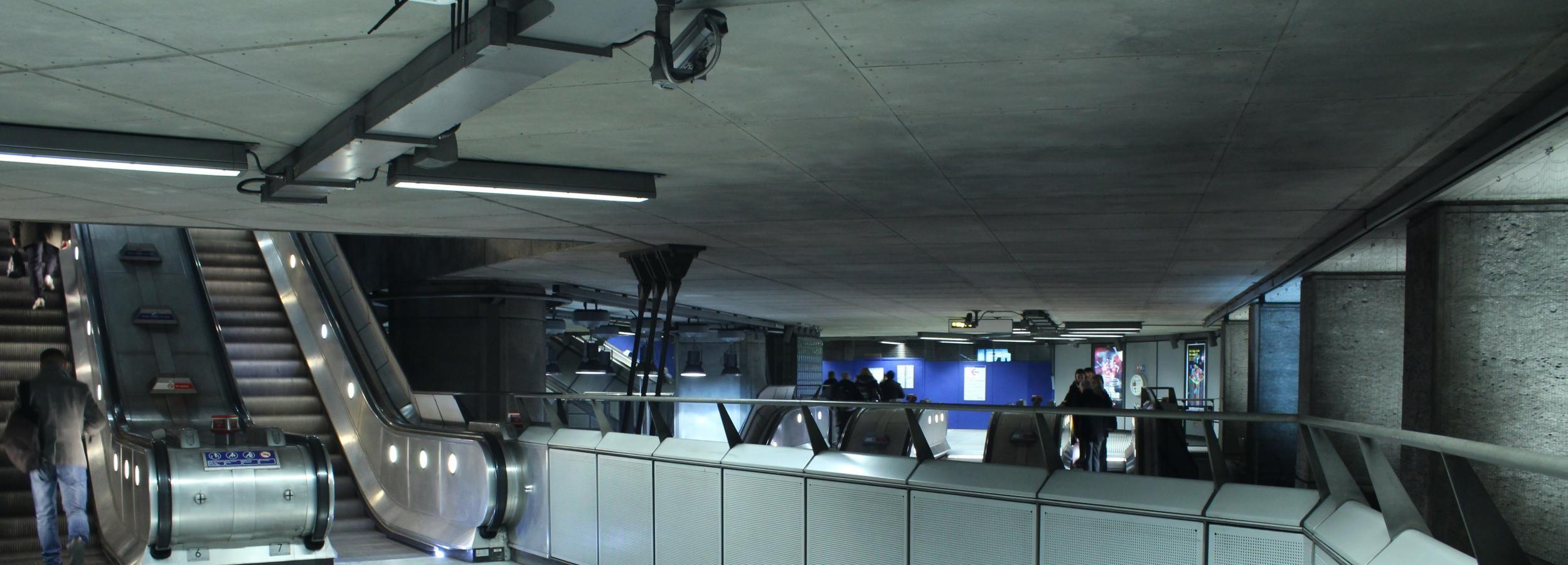 Londres: visite privée du métro et du métro