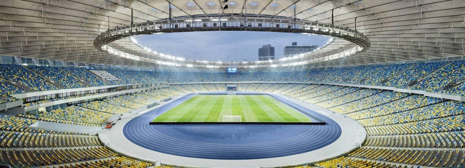 Kiew: Geführte Tour durch das Olympiastadion