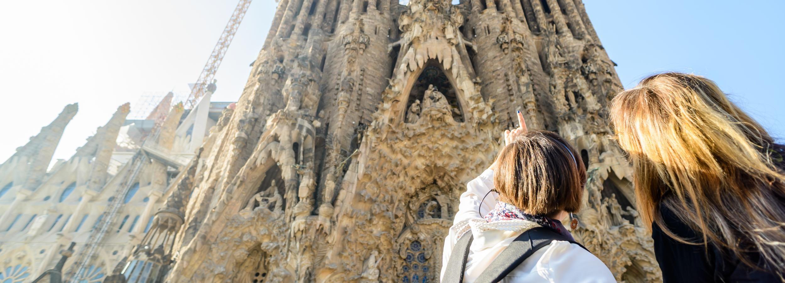 Sagrada Família: visite guidée avec accès coupe-file