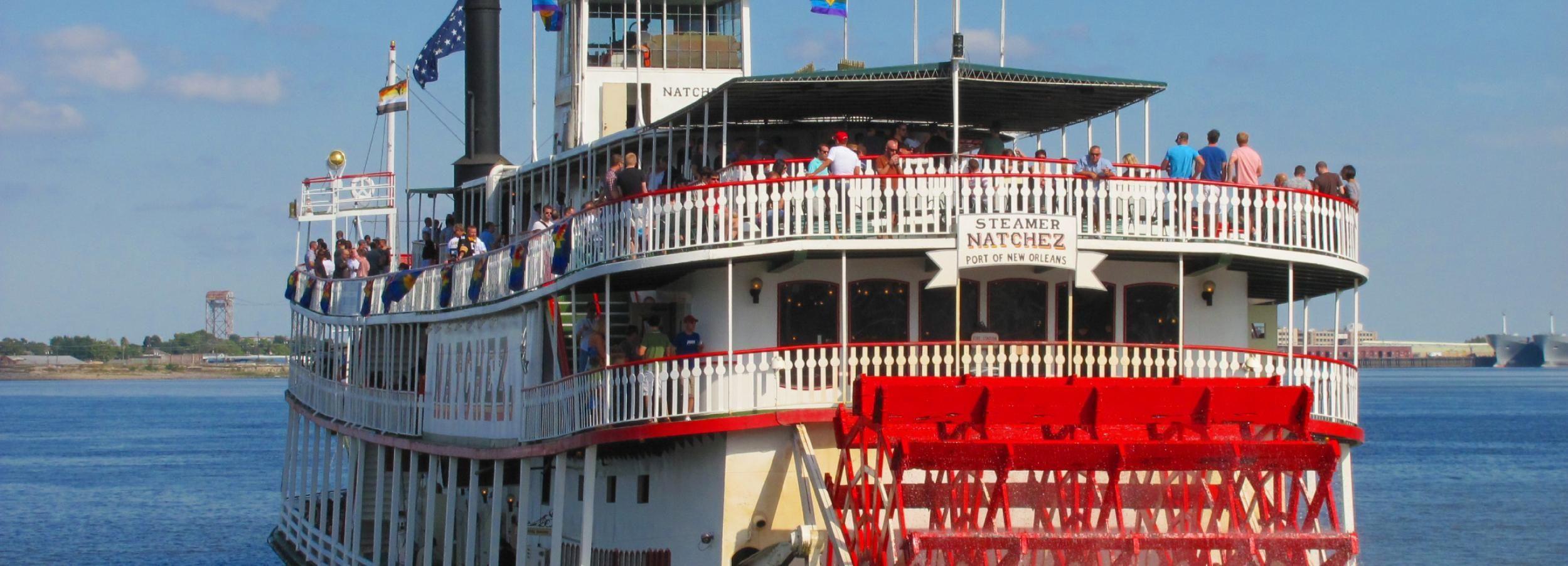 Nueva Orleans: crucero de jazz a bordo del Natchez