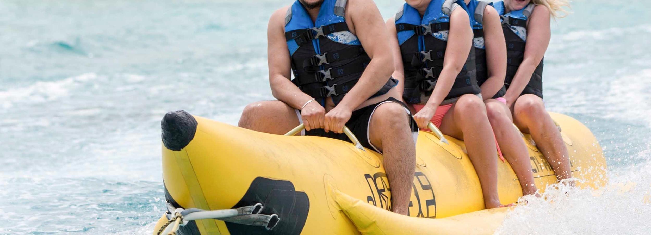 Dubai: bananenboottocht