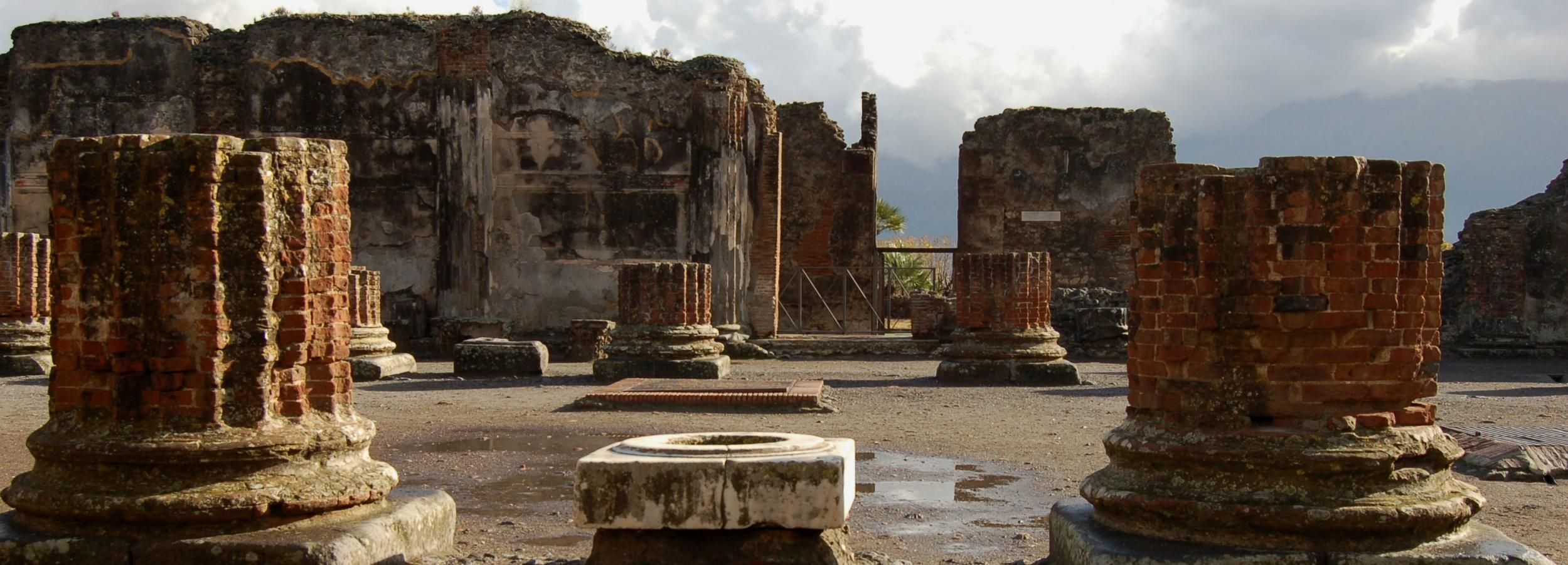 Herculaneum and Pompei group excursion from Sorrento
