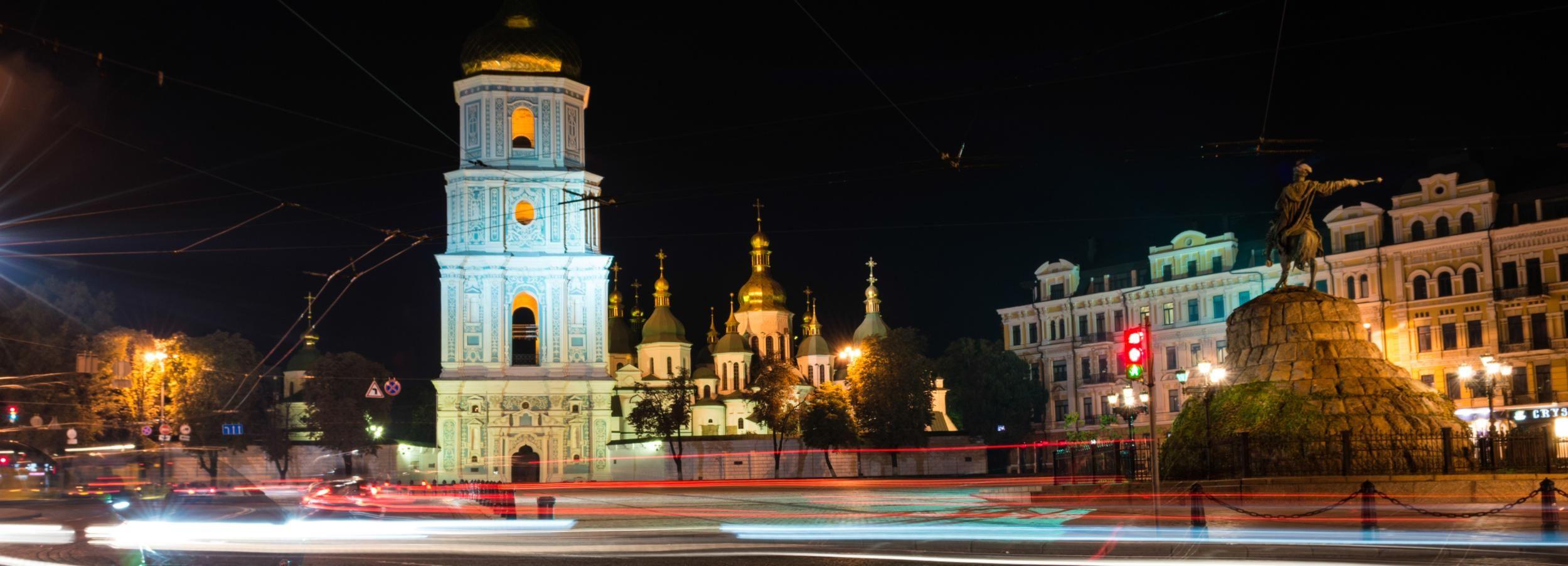Kiev: 3-Hour Night City Tour