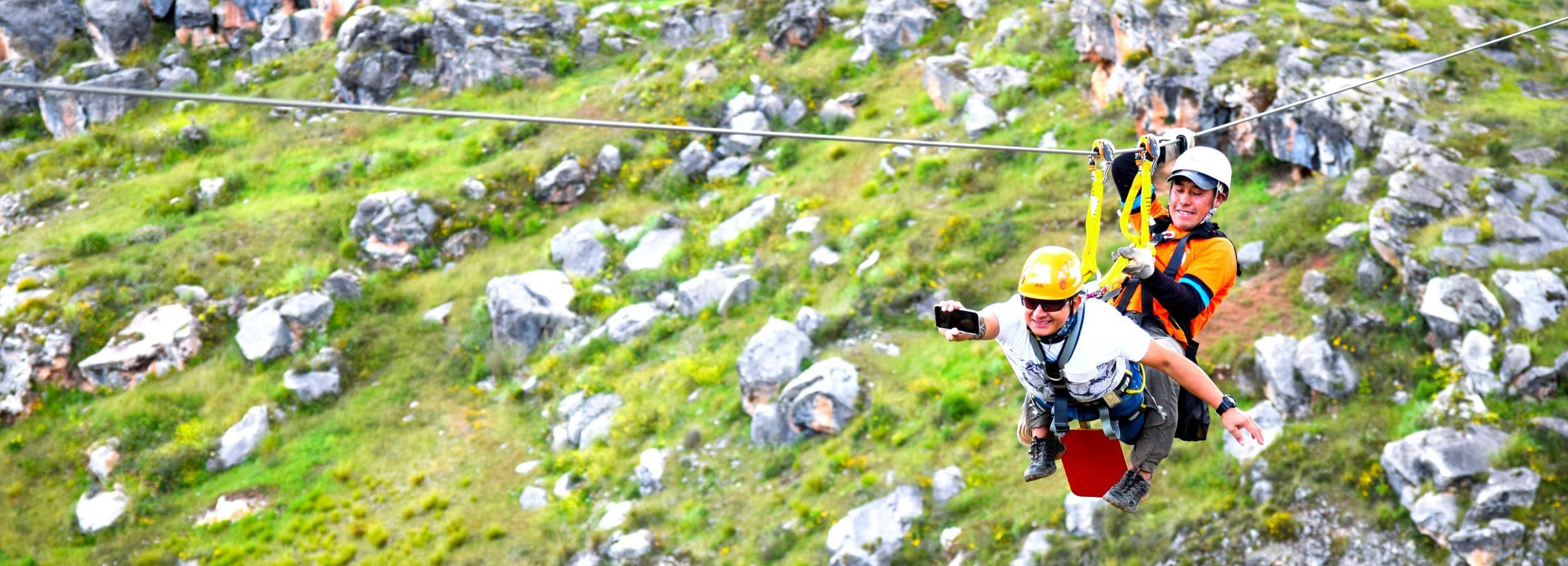 Cuzco: tour de Chinchero y tirolina de medio día