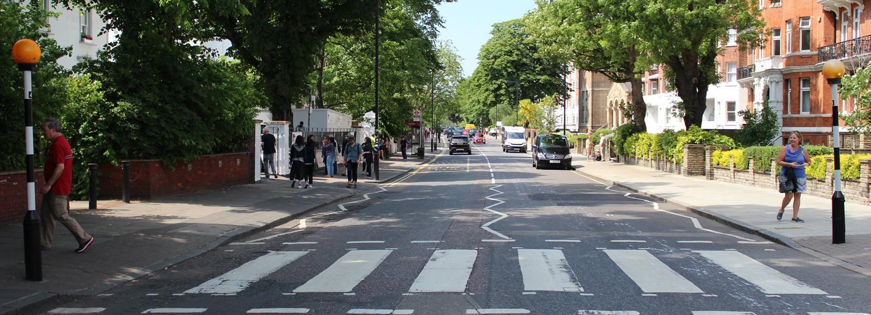 Tour de Londres des Beatles en taxi noir