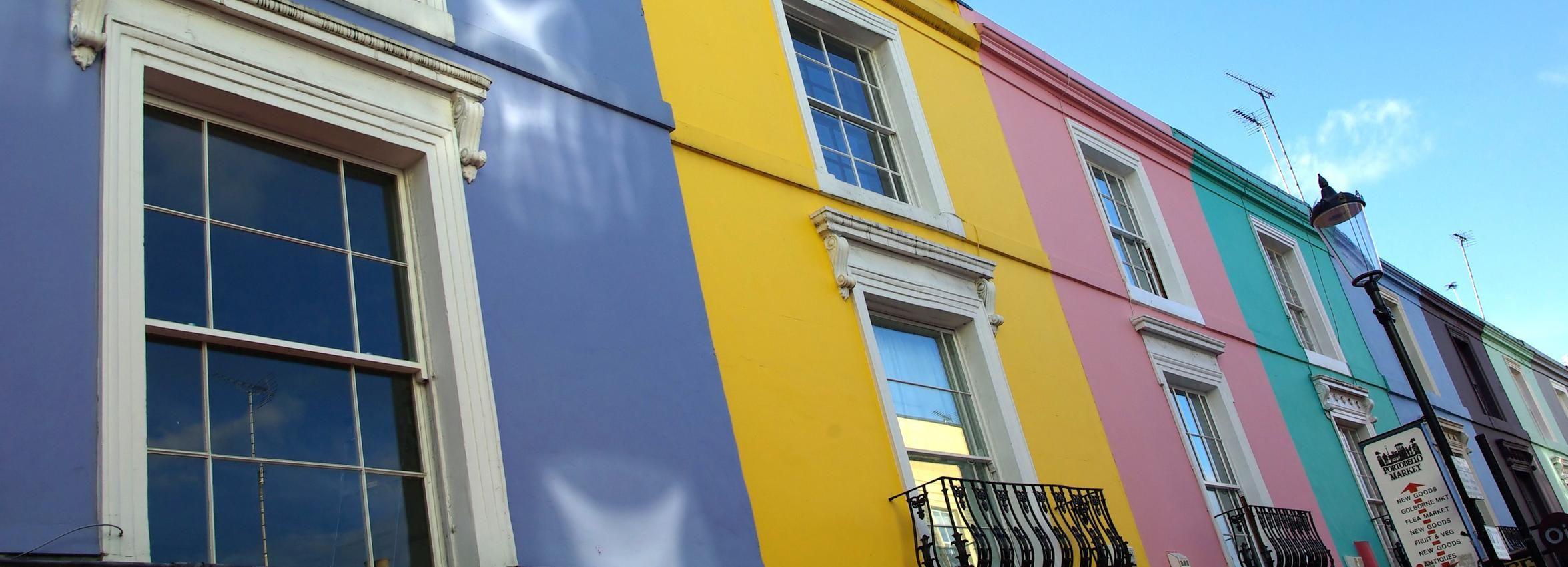 Londres: visite guidée à pied de Notting Hill