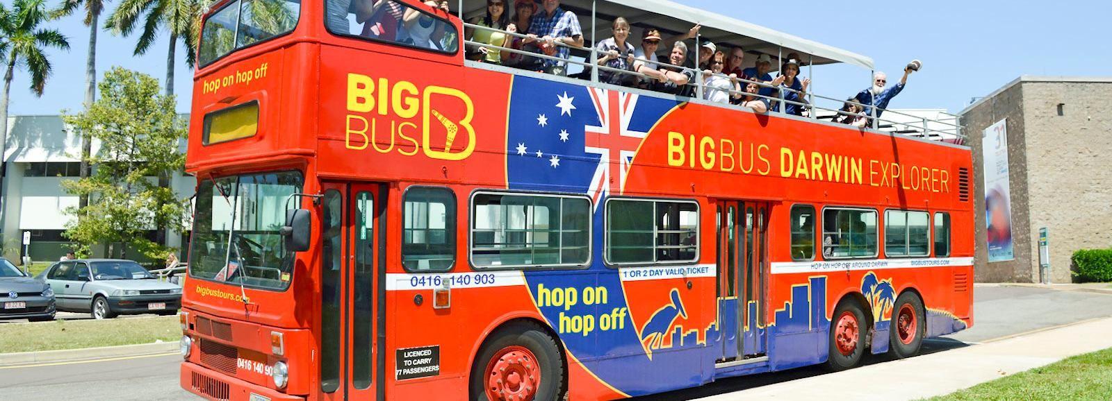 Darwin: biglietto per l'autobus Hop-On Hop-Off