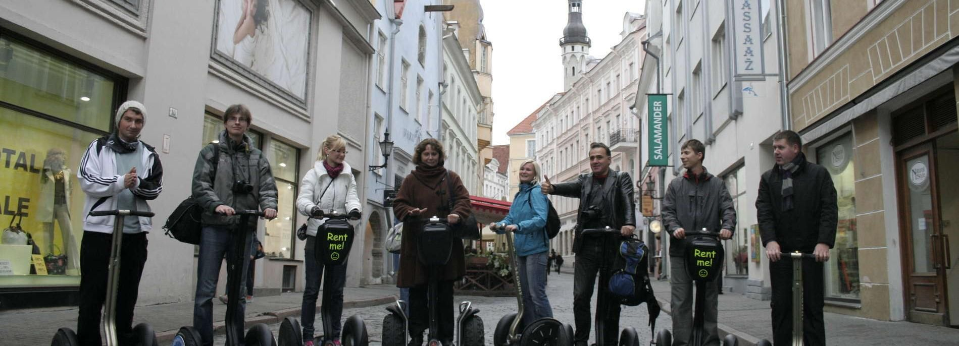 Tallinn: Segway Food Tour