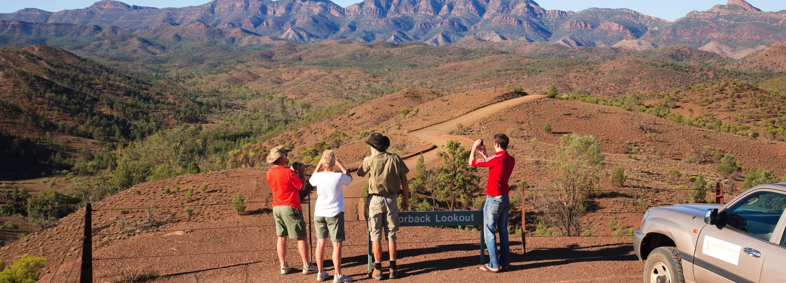 Half-day Wilpena Pound Gorges 4WD Tour with Refreshments