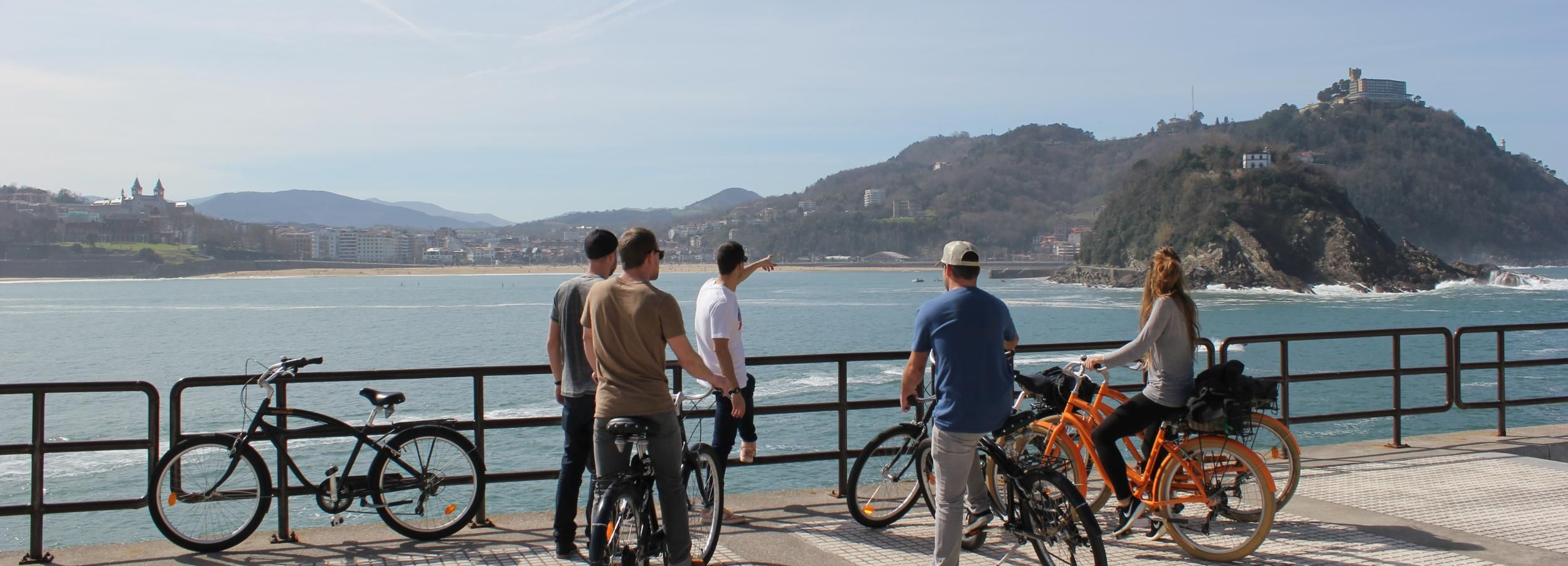 San Sebastián Small Group Bike Tour