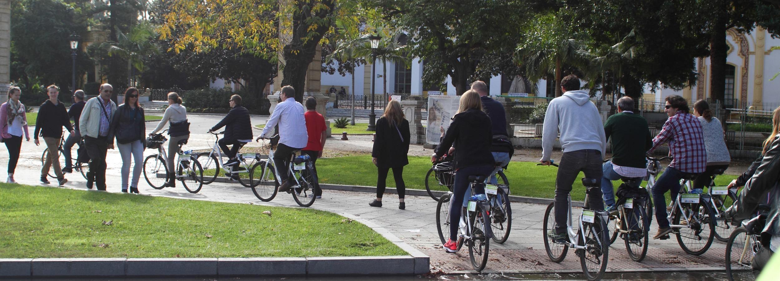 Séville: visite de 3 heures des jardins Murillo avec déjeuner pique-nique