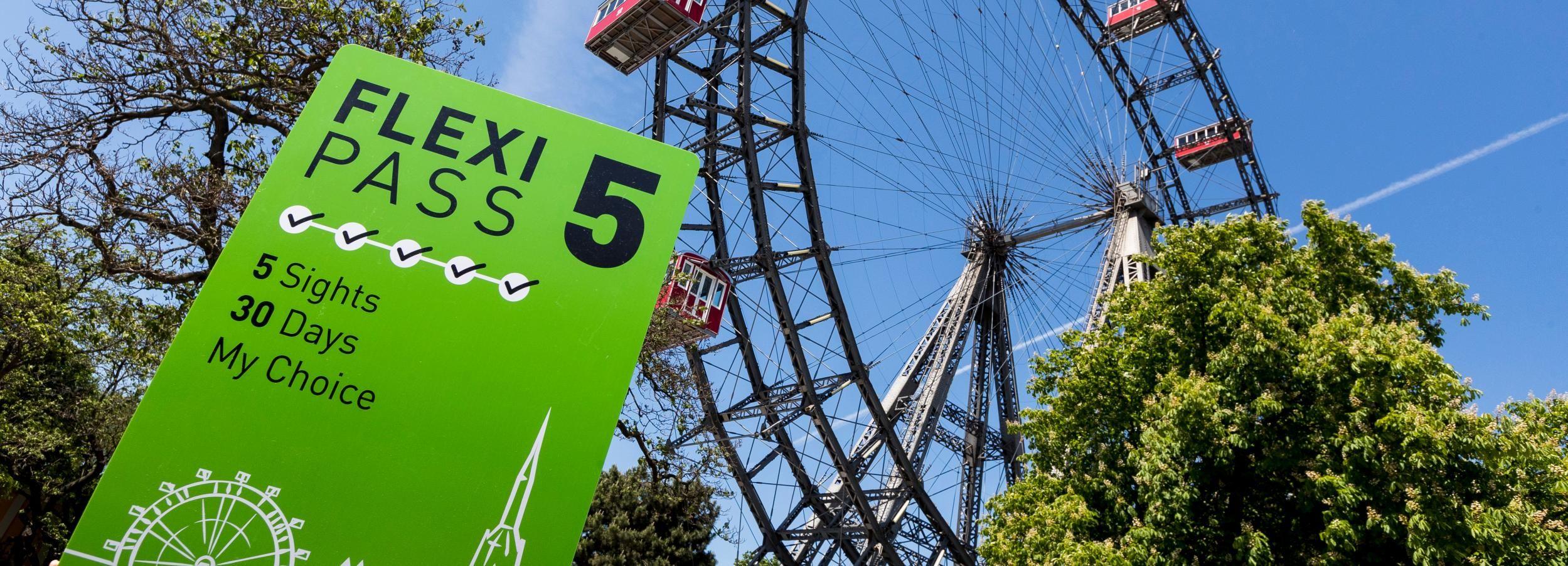 Vienna: Flexipass per 3, 4 o 5 attrazioni da non perdere