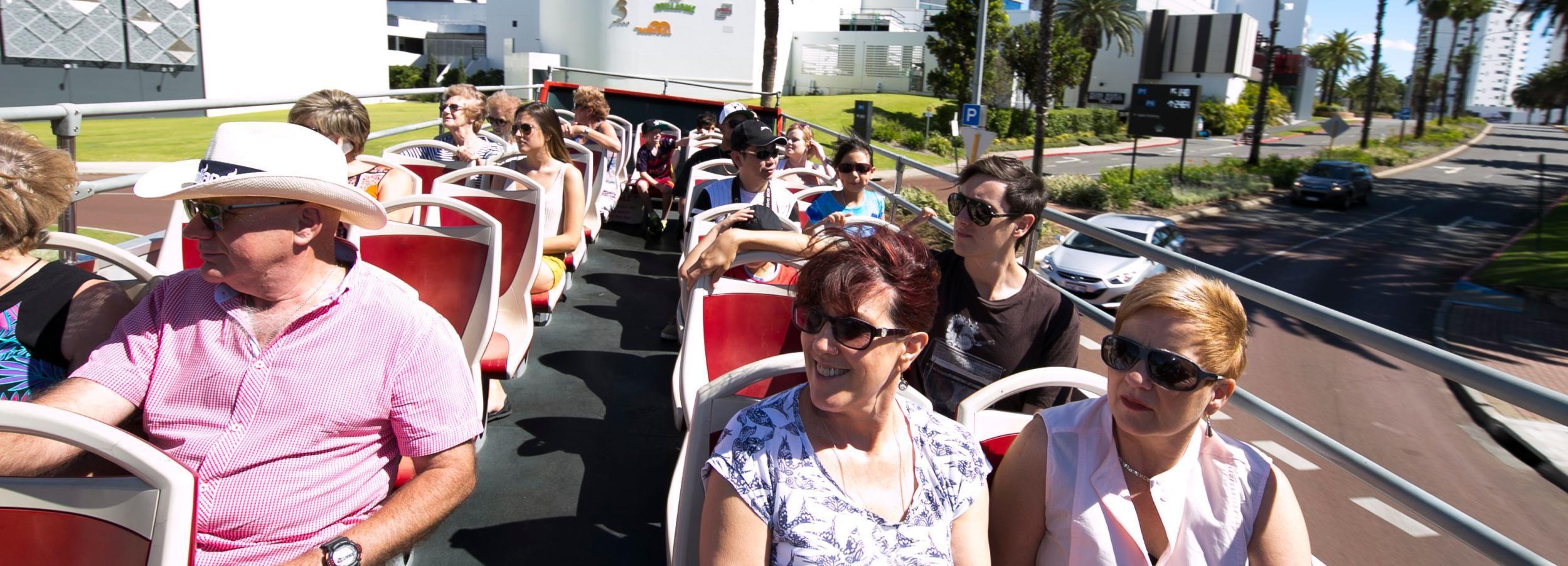 Perth Hop-on Hop-Off Bus Tour & Perth Mint Entry Ticket