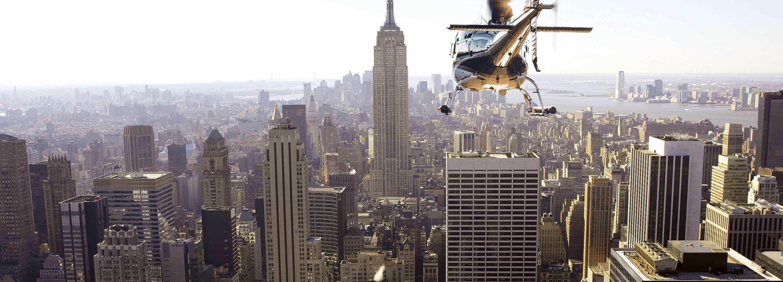 ニューヨーク シティ:プライベート ヘリコプター フライト