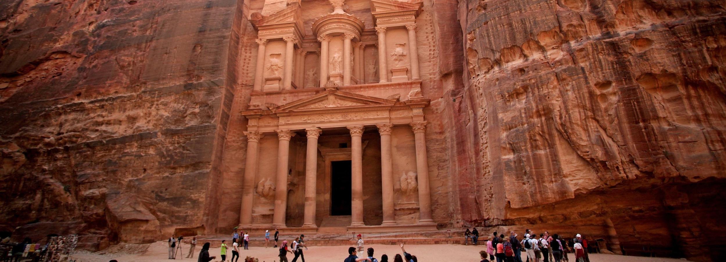 Amman to Petra Half-Day Transfer