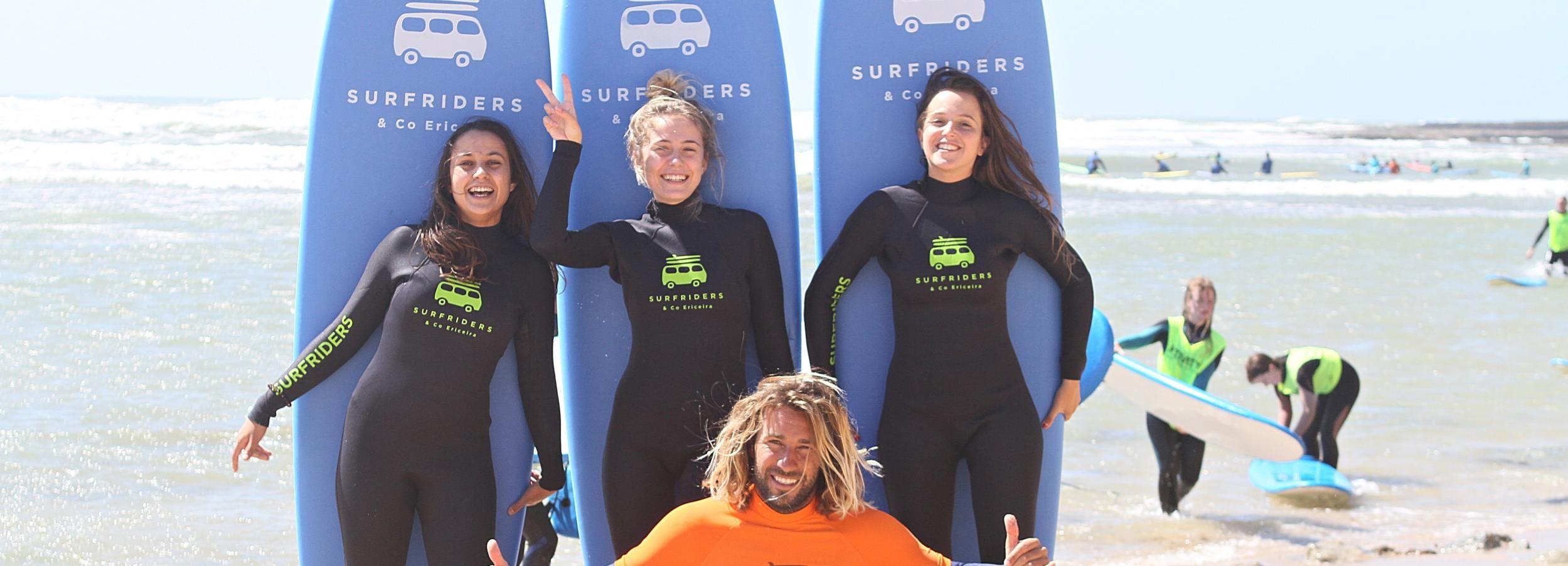 Ericeira: 2 horas Clases de Surf