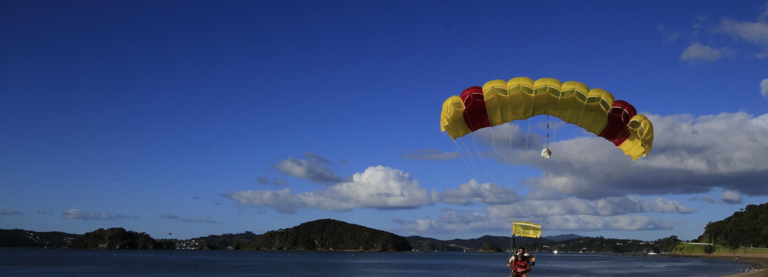 Bay of Islands: Tandem Skydive Experience