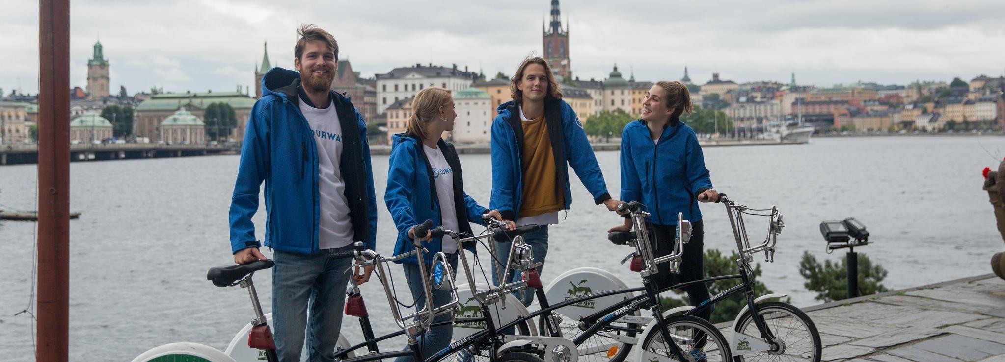 Tour guidato in bici privata di 3 ore a Stoccolma