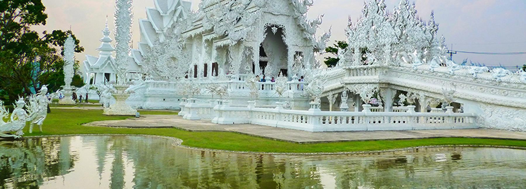From Chiang Mai: White Temple & Golden Triangle Day Trip