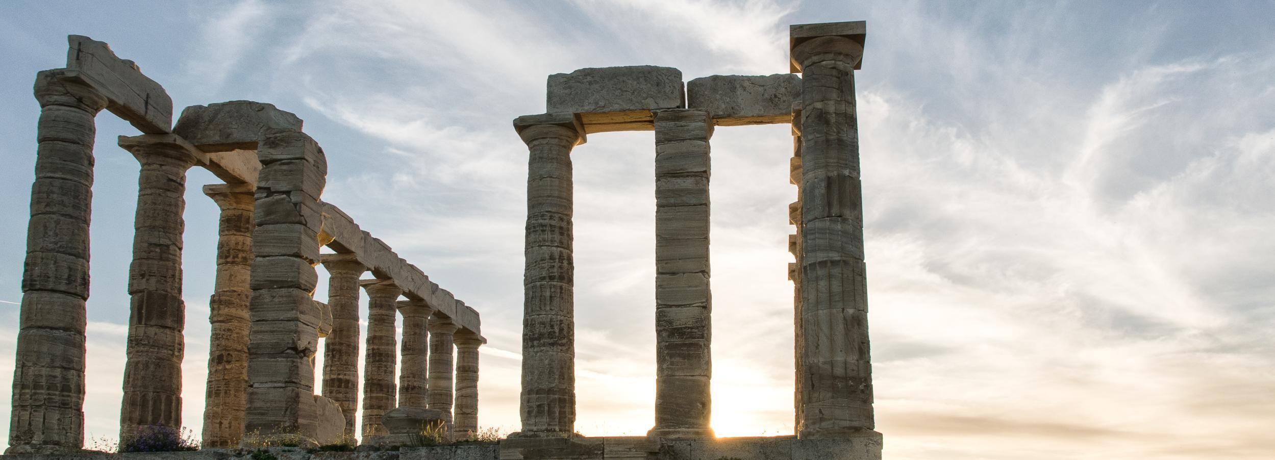 Cabo Sunión y tour guiado al templo de Poseidón
