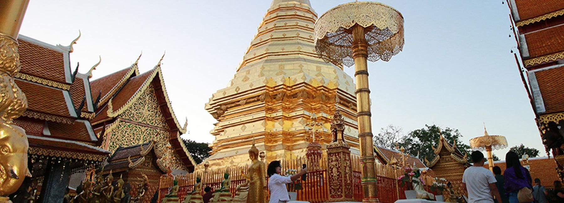 4-Hour Doi Suthep & Hmong Hill Tribe Village from Chiang Mai