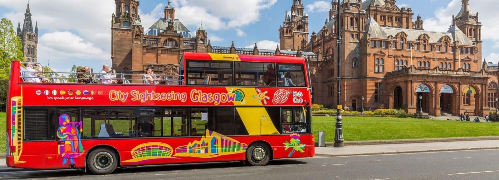 City Sightseeing Glasgow: Hop-On Hop-Off Bus Tour