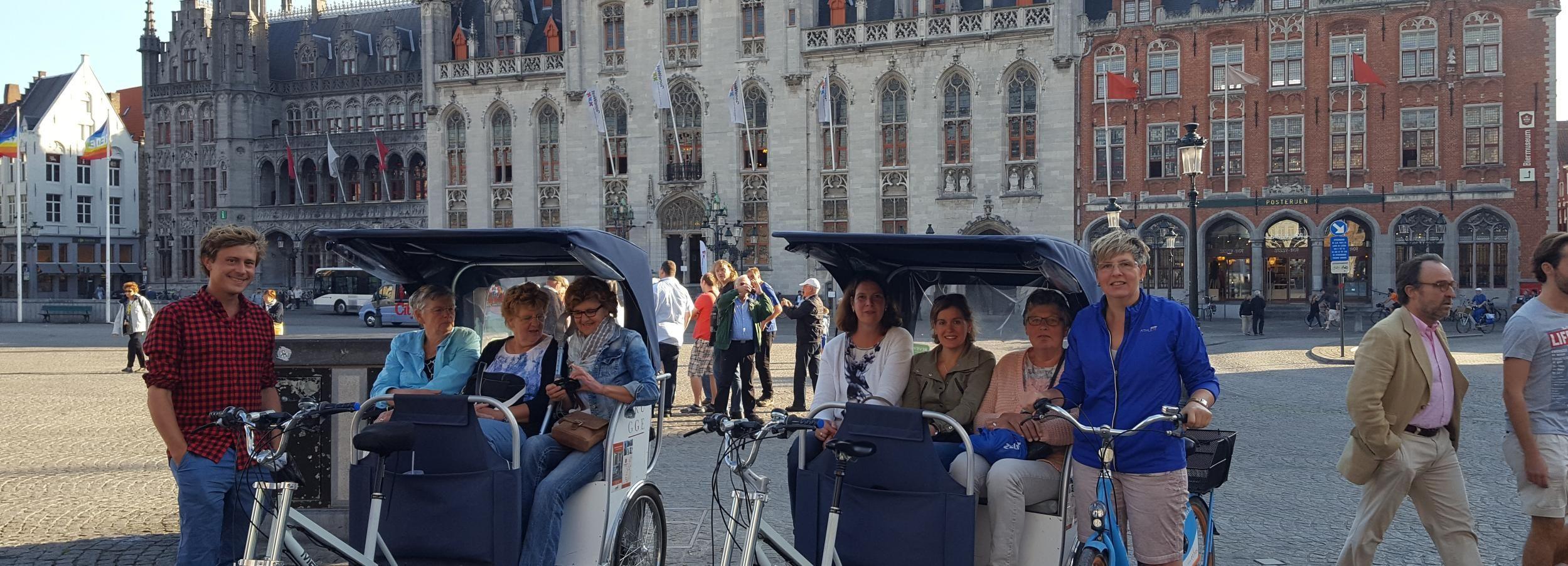 Bruges: tour guidato in risciò