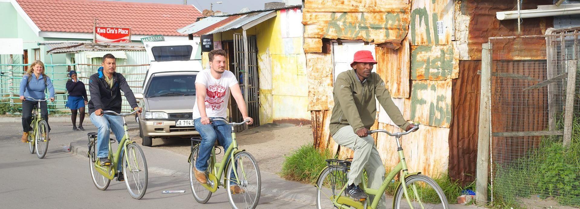 Kapstadt: Township-Fahrradtour