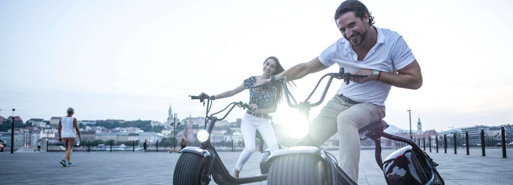 Budapest: MonsteRoller E-Scooter Tour