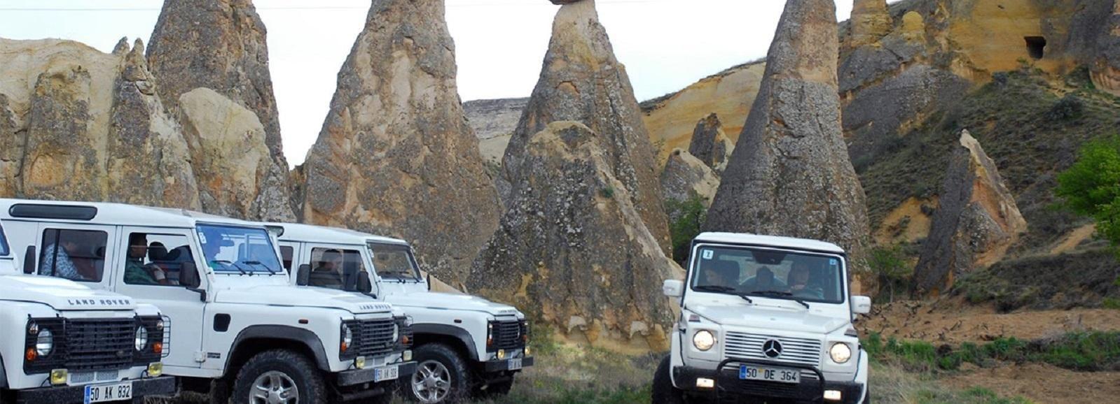 Goreme: Cappadocia Jeep Safari