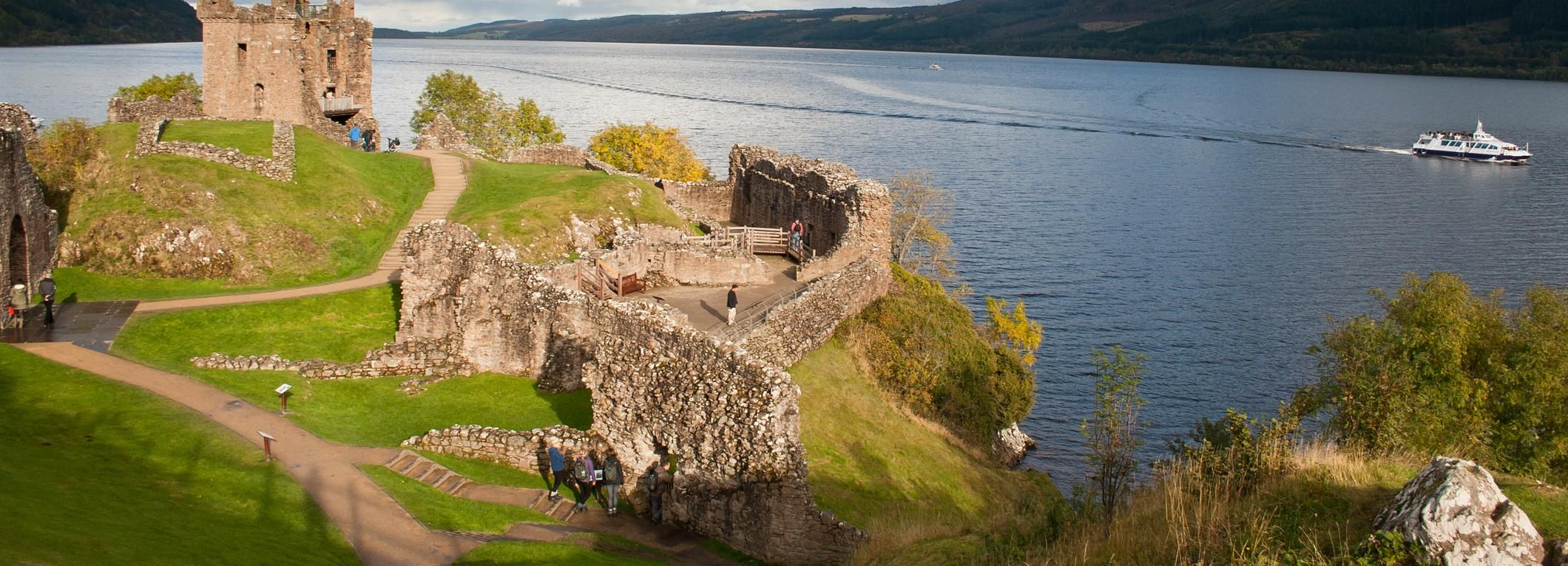 Ab Edinburgh: 2-Tages-Tour Loch Ness, Inverness & Highlands