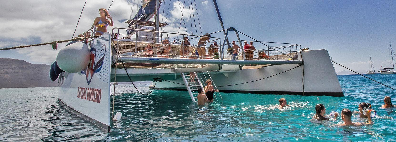 Lanzarote: tour in catamarano per le Spiagge di Papagayo