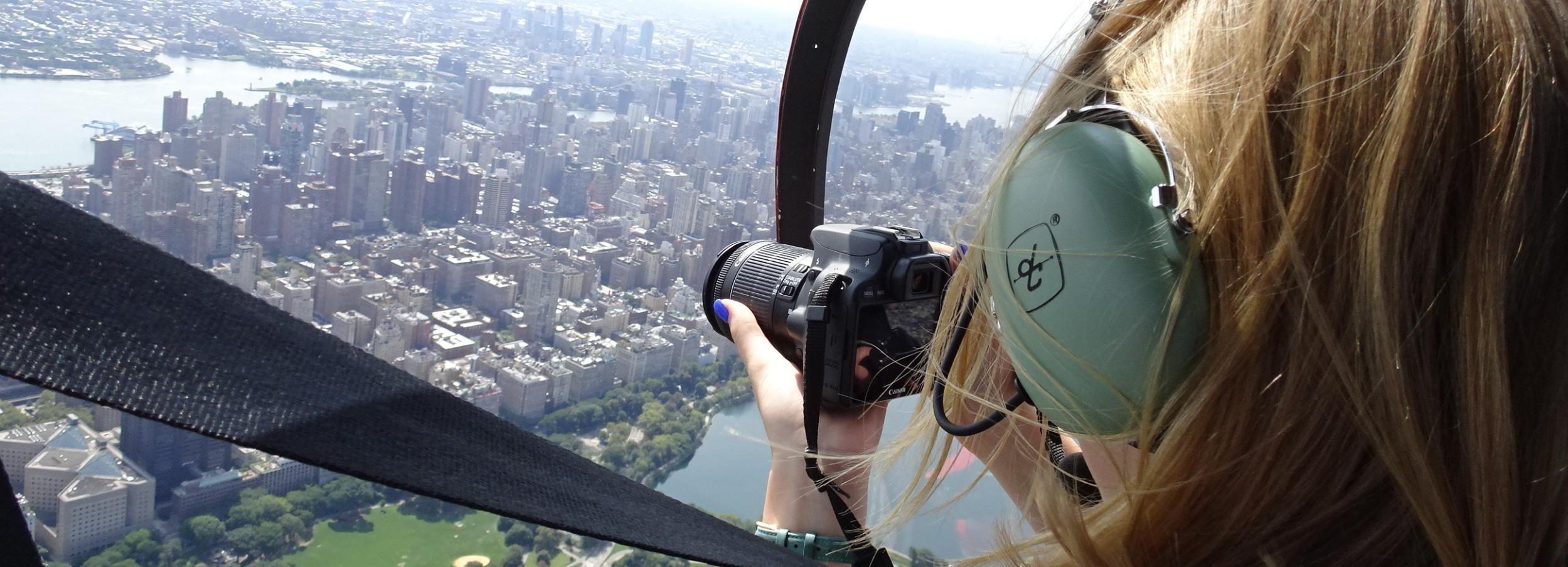 ニューヨーク市:空中写真フライト