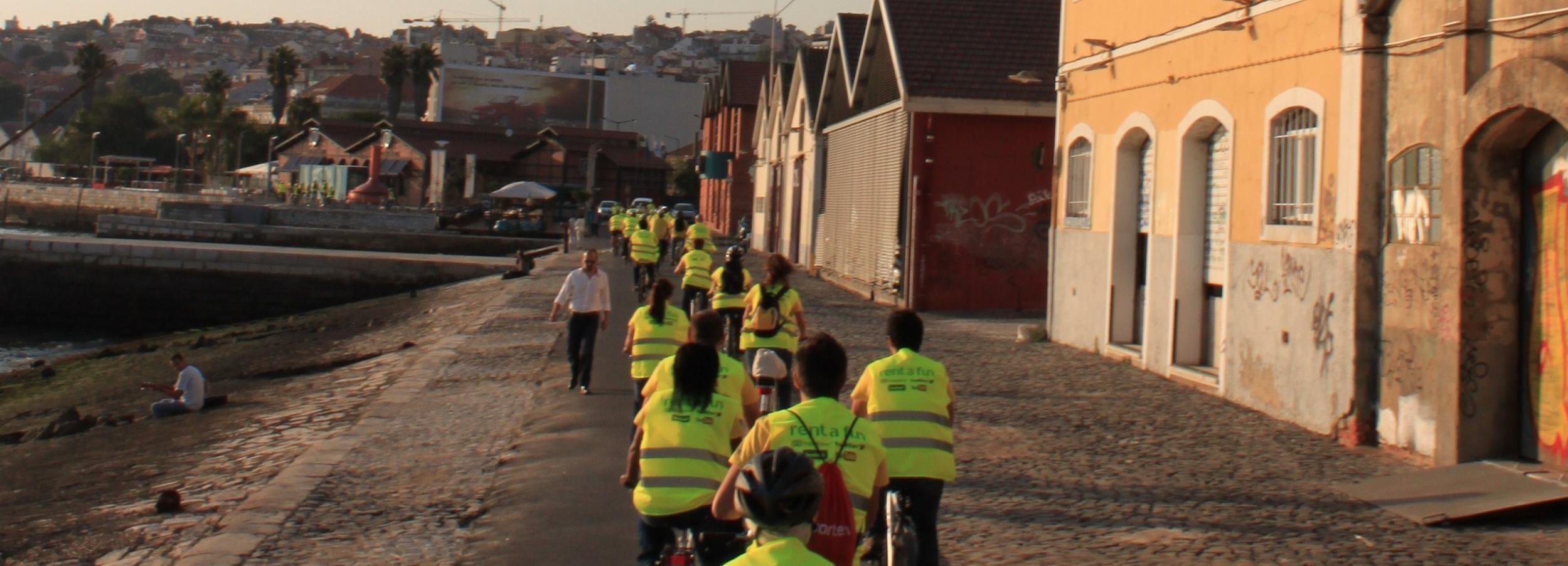 Lisboa: Excursão de Bicicleta Elétrica de 3 Horas Go Tejo