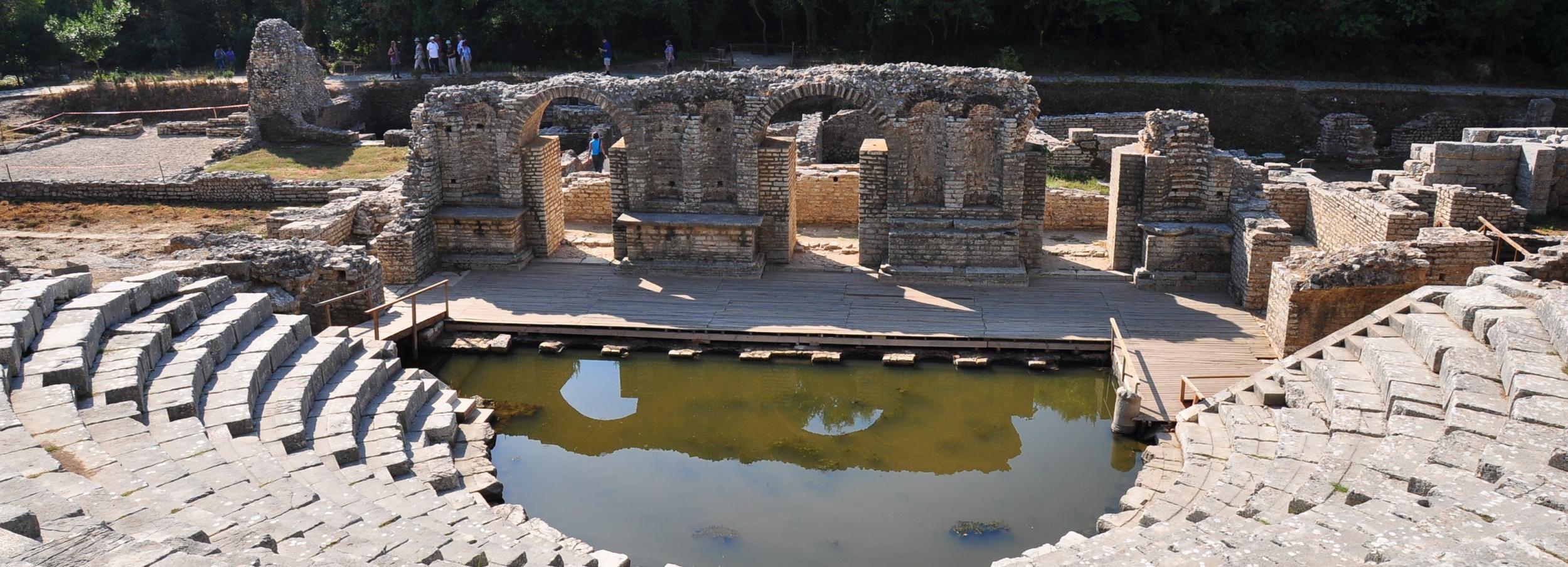 Ab Saranda: Privattour zum Archäologischen Park Butrint