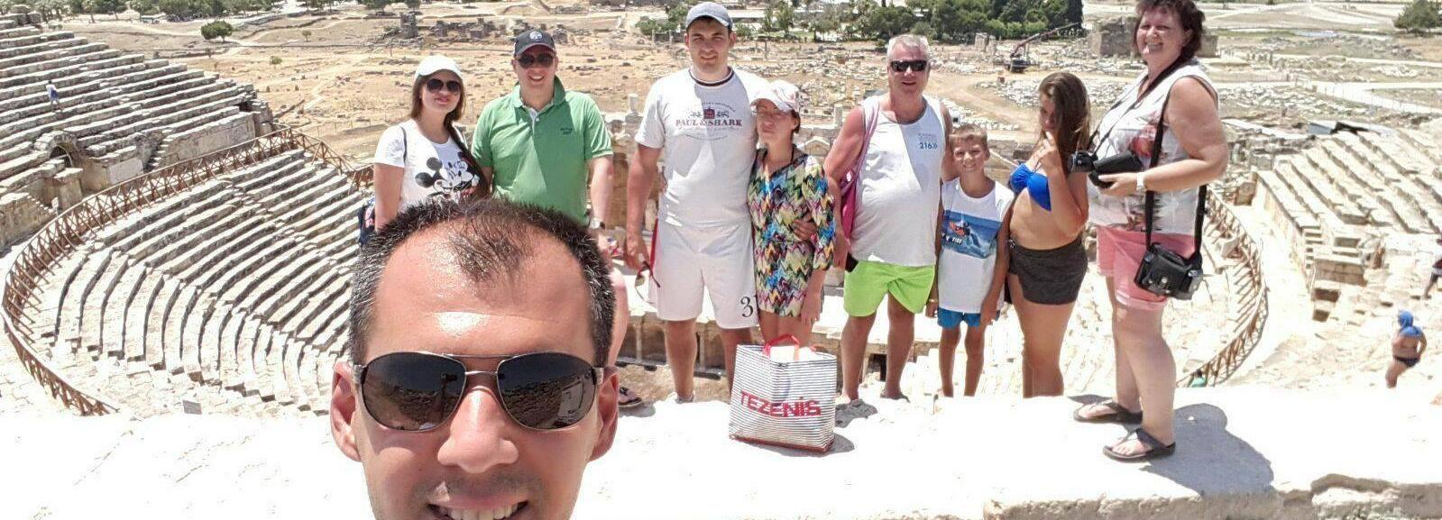 Pamukkale Small Group Tour from Kusadasi