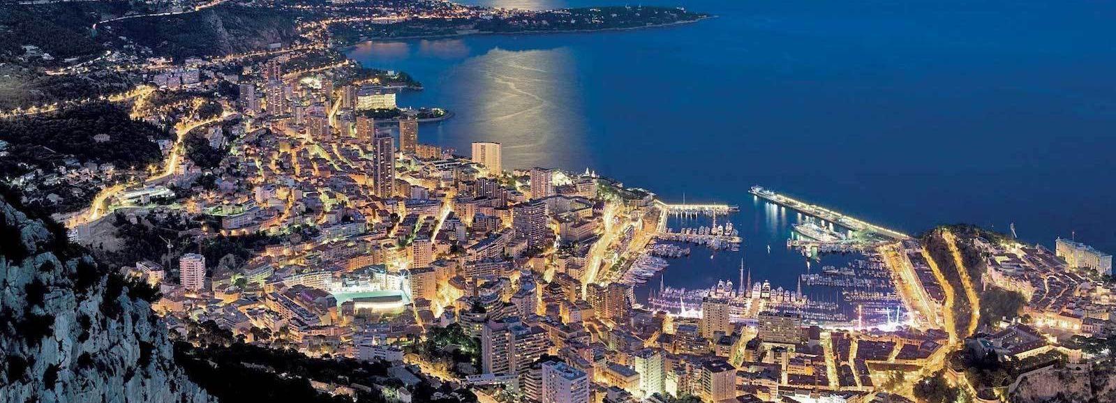 De Nice: Monaco de nuit 4 heures
