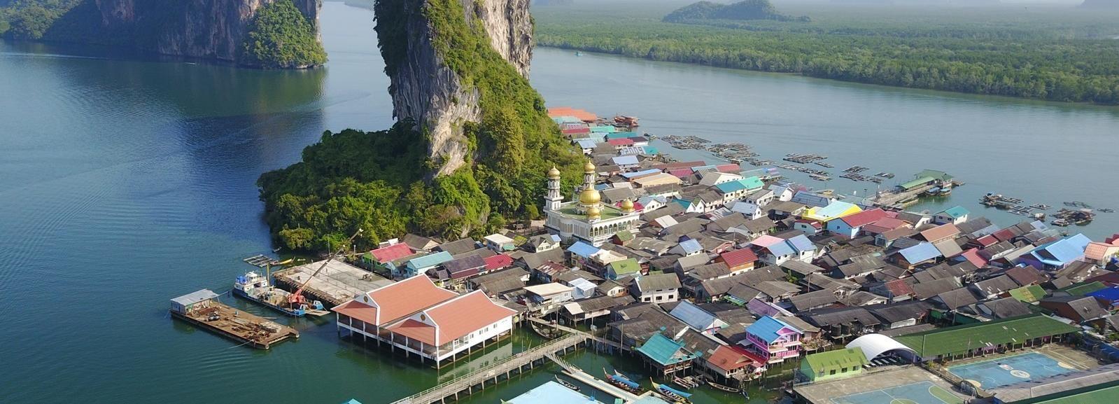 Phuket: excursión a la Bahía de Phang Nga en lancha y canoa