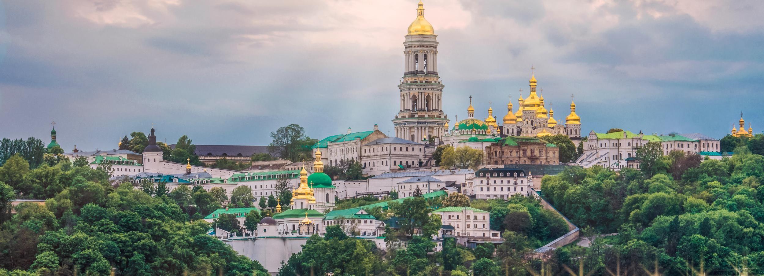 Kiev in 180 minuten stadsrondleiding door Auto