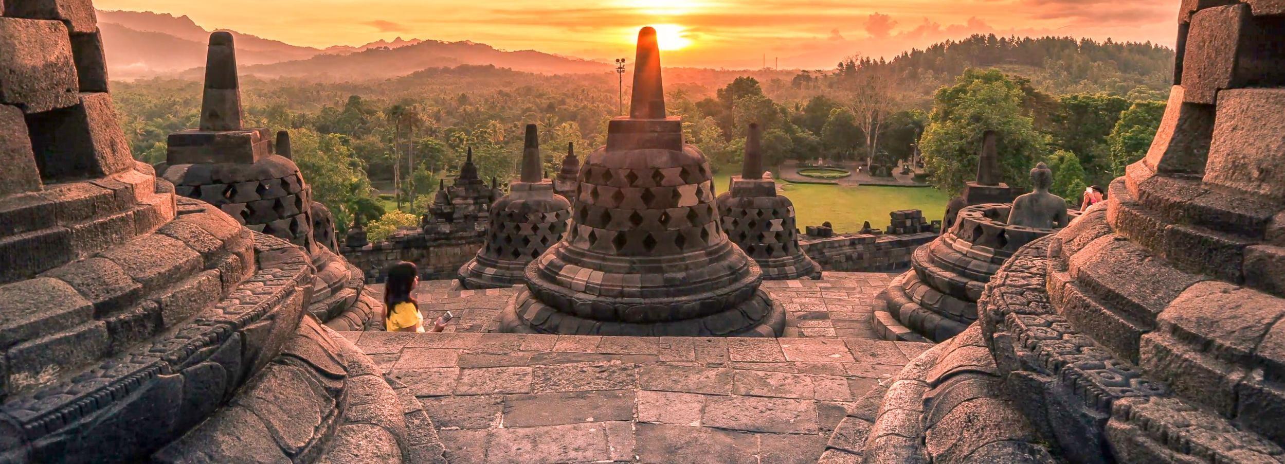Borobudur Sunrise or Sunset Half Day Private Tour