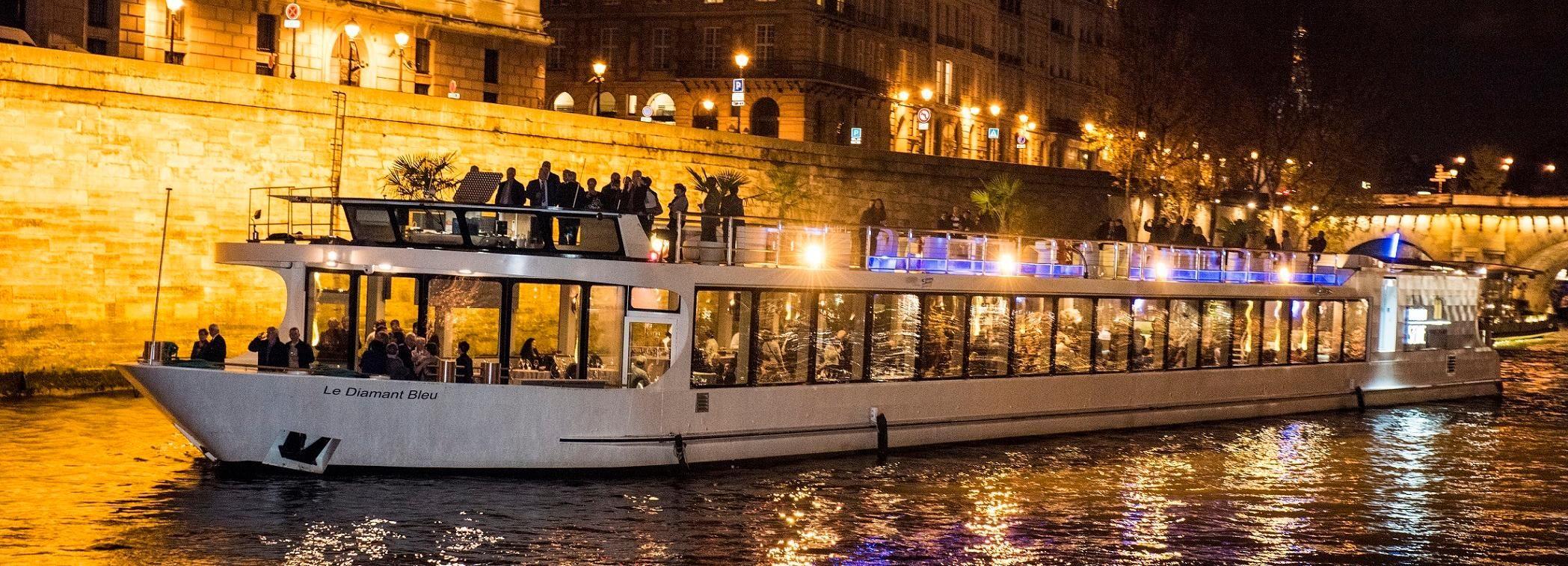 París: crucero con cena por el río Sena