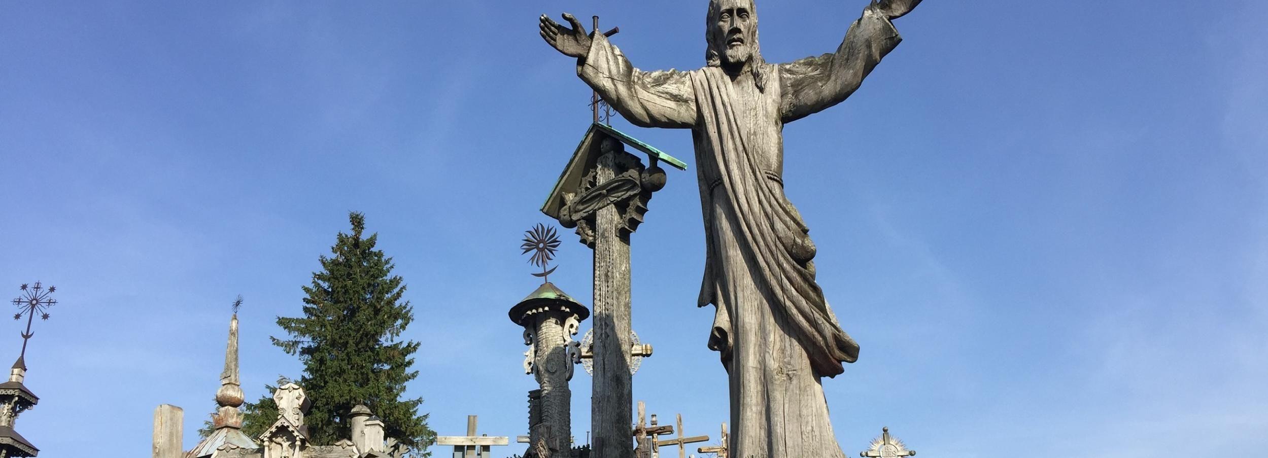 Rota de João Paulo II: Monte das Cruzes, Tytuvenai e Siluva