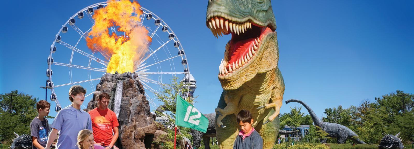 Niagara Falls, Canada: Clifton Hill 4 Attraction Fun Pass
