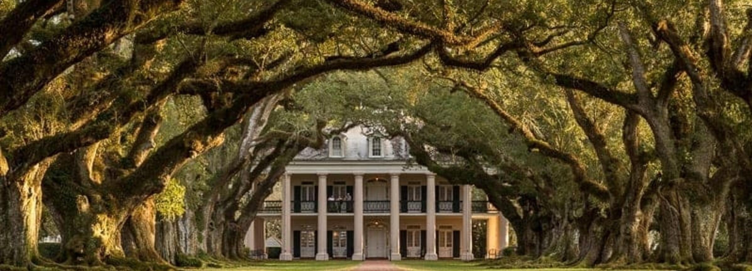 Nueva Orleans: plantación de Oak Alley e hidrodeslizador
