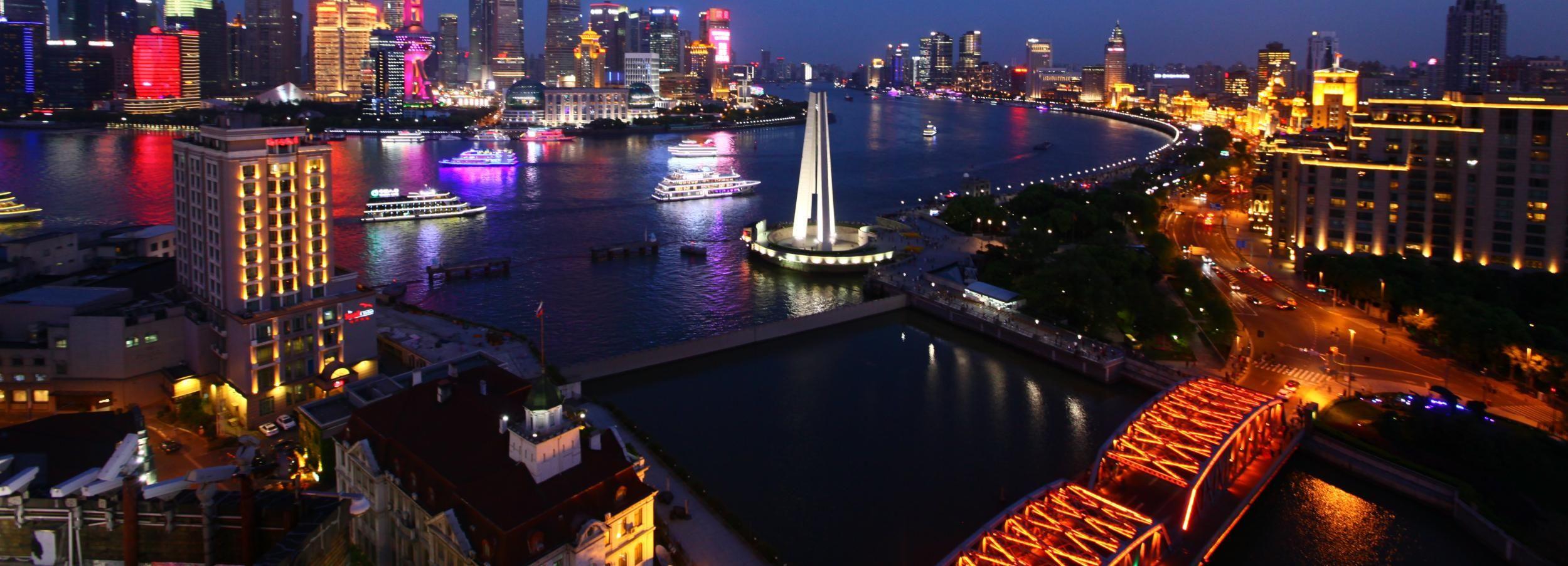 Shanghai: City Lights and Huangpu River Cruise Night Tour