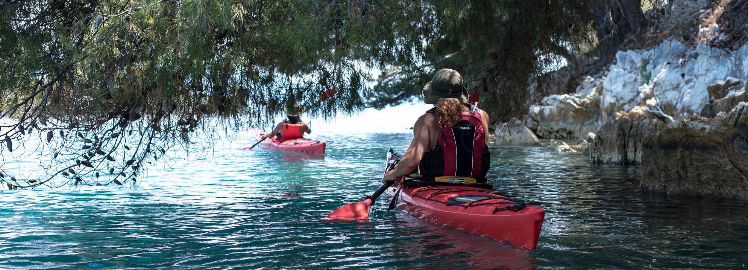 Lefkada: Full Day Sea Kayaking Tour